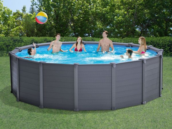 Graphite Gray Panel™ Pools