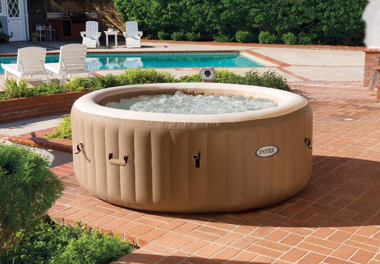 Der Aldi Whirlpool in 2021: Intex PureSpa™ 77 Bubble Massage